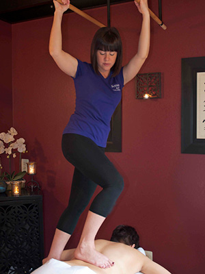 Ashiatsu Oriental Bar Therapy®