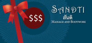 gift card sandti massage