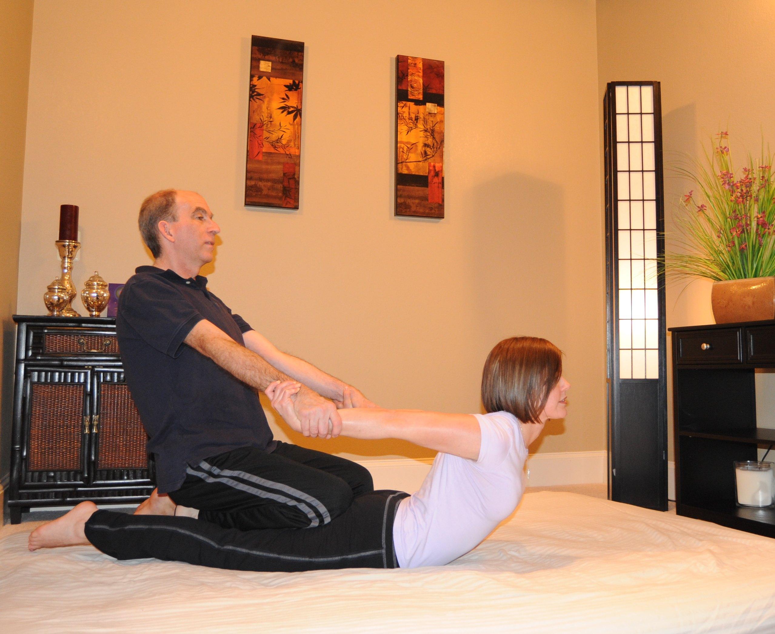 Sandti massage and bodywork Thai Image